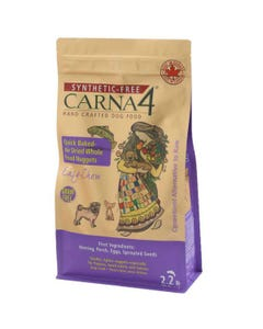 Carna4 Hand Crafted Dog Food - Easy-Chew Fish Formula