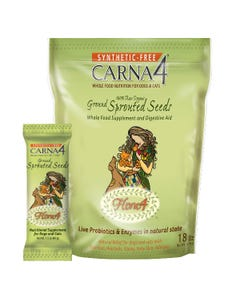 Carna4 Flora4 Ground Sprouted Seeds Food Topper