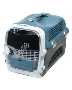 Catit Cabrio Pet Carrier - Blue and Grey