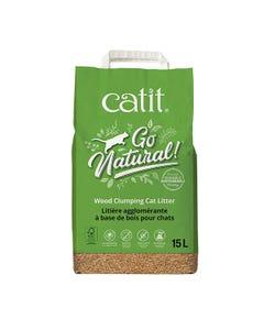 Catit Go Natural Wood Clumping Cat LItter