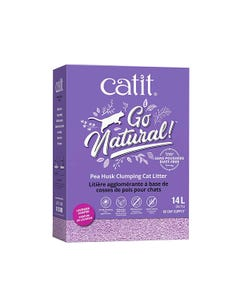 Catit Go Pea Husk Lavender-Scented Clumping Cat Litter