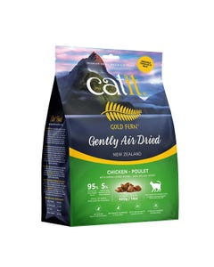 Catit Gold Fern Gently Air-Dried Cat Food - Chicken