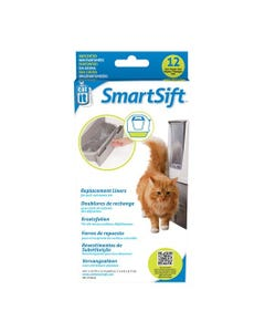 Catit Biodegradable Replacement Waste Bin Liners 12-Pack