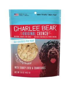 Charlee Bear Original Dog Treats - Turkey Liver & Cranberries