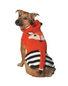 Chilly Dog - Foxy Hoodie Dog Sweater