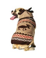 Chilly Dog - Moosey Hoodie Dog Sweater