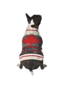 Chilly Dog - Maple Leaf Dog Sweater
