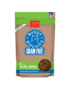 Cloud Star Grain Free Buddy Biscuits Cat Treats - Tender Chicken