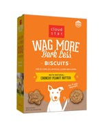 Cloud Star Wag More Bark Less Baked Biscuits - Crunchy Peanut Butter
