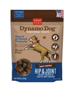 Cloud Star Dynamo Dog Hip & Joint - Bacon & Cheese