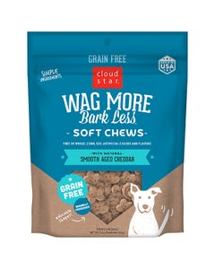 Cloud Star Wag More Bark Less Soft & Chewy - Smooth Aged Cheddar - Information