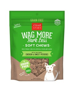 Cloud Star Wag More Bark Less Soft & Chewy - Chicken & Sweet Potatoes - Information