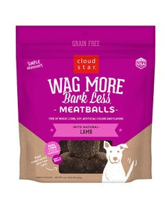 Cloud Star Wag More Bark Less Meatballs - Lamb Recipe