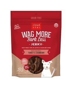 Cloud Star Wag More Bark Less Jerky - Turkey & Cranberry