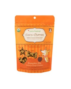 CocoTherapy Coco-Charms Training Dog Treats - Pumpkin Pie