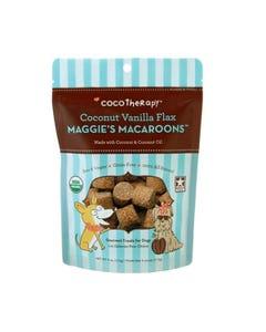 CocoTherapy Maggie's Macaroons Dog Treats - Coconut Vanilla Flax