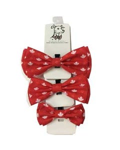 Huxley & Kent Maple Leaf Bow Tie for Dogs