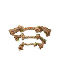 Define Planet Double Knot Hemp Rope Toy