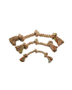 Define Planet Triple Knot Hemp Rope Toy