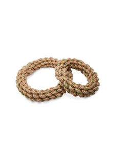Define Planet Tug Ring Hemp Rope Toy