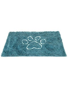 Dog Gone Smart Dirty Dog Doormat - Pacific Blue