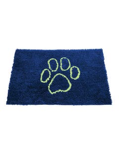 Dog Gone Smart Dirty Dog Doormat - Marine with Lime Green