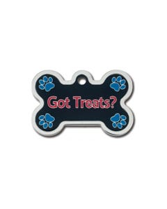 Dog ID Tag - Got Treats Bone
