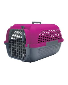 Dogit Voyageur Fuchsia/Charcoal Dog Carrier