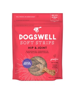 Dogswell Hip & Joint Duck Soft Strips Dog Treat