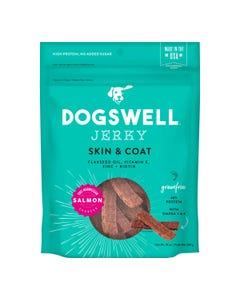 Dogswell Skin & Coat Salmon Jerky Dog Treat
