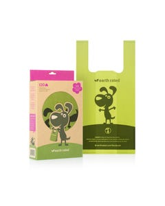 Earth Rated PoopBags with Handles - Lavender Scented