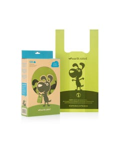 Earth Rated PoopBags with Handles - Unscented Out of Box