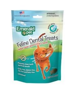 Emerald Pet Feline Dental Treats - Ocean Fish Recipe