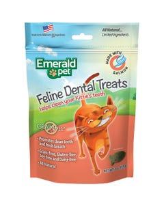 Emerald Pet Feline Dental Treats - Salmon Recipe