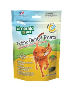 Emerald Pet Feline Dental Treats - Turducky Recipe