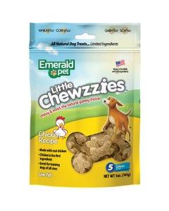 Emerald Pet Little Chewzzies Dog Treats - Chicken Recipe
