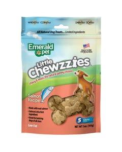 Emerald Pet Little Chewzzies Dog Treats - Salmon Recipe