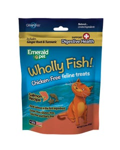 Emerald Pet Wholly Fish! Digestive Health - Salmon Recipe