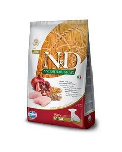 Farmina Natural & Delicious Ancestral Grain Dog Food - Chicken & Pomegranate Puppy Mini