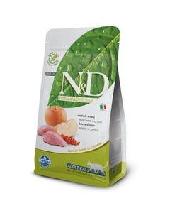 Farmina Natural & Delicious Grain Free Feline Adult Cat Food Formula - Boar and Apple
