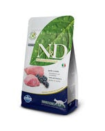 Farmina Natural & Delicious Grain Free Feline Adult Cat Food Formula - Lamb and Blueberries