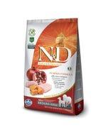 Farmina Natural & Delicious Pumpkin Canine Adult Medium & Maxi Dog Food Formula - Chicken and Pomegranate