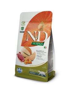 Farmina Natural & Delicious Pumpkin Feline Adult Cat Food Formula - Duck and Cantaloupe