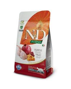 Farmina Natural & Delicious Pumpkin Feline Adult Cat Food Formula - Quail and Pomegranate