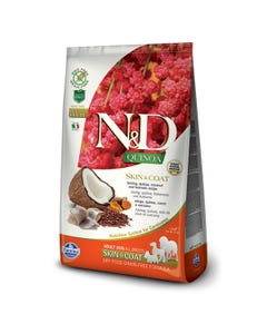 Farmina N&D Quinoa Functional Canine Dog Food - Skin & Coat Herring