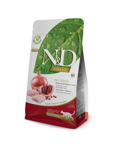 Farmina N&D Prime Adult Cat Food - Chicken and Pomegranate Neutered