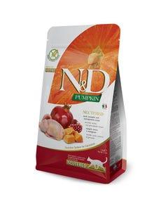 Farmina N&D Pumpkin Feline Adult Cat Food - Quail and Pomegranate Neutered