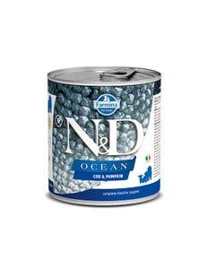Farmina N&D Ocean Puppy Wet Food - Cod & Pumpkin