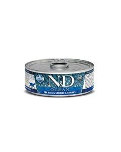 Farmina N&D Ocean Adult Wet Food - Sea Bass, Sardine & Shrimp