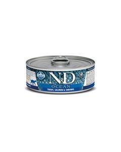 Farmina N&D Ocean Adult Wet Food - Trout, Salmon & Shrimp
